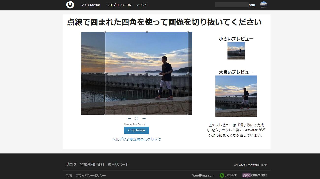 WordPress Gravatarでプロフィール写真を表示させる【手順】