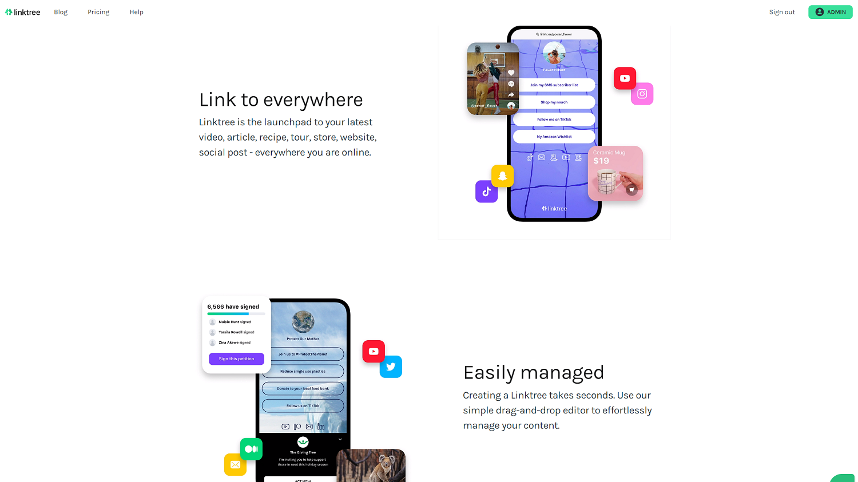 Linktree(リンクツリー)|登録手順と使い方を解説